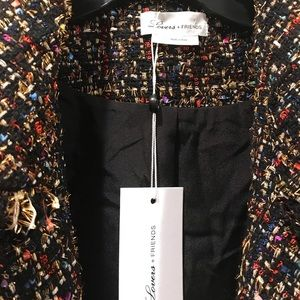 Lovers + Friends Jackets & Coats - Lovers + Friends Paola Cropped Jacket, Size Large